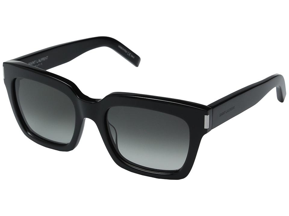 Saint Laurent Bold 1 Black/Grey Gradient Fashion Sunglasses
