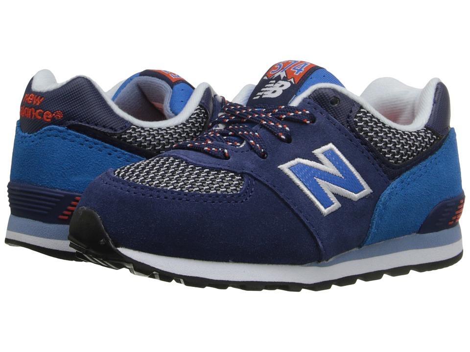 New Balance Kids Summit 574 Infant/Toddler Blue/Blue Boys Shoes