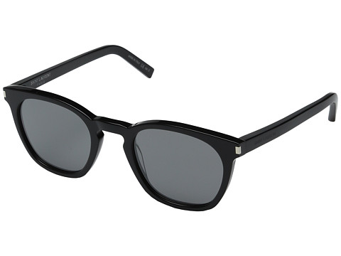 Saint Laurent SL 28 - Black/Solid Silver