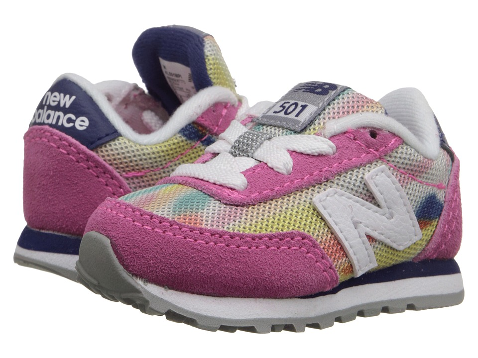 New Balance Kids State Fair 501 Infant/Toddler Pink/Blue Girls Shoes