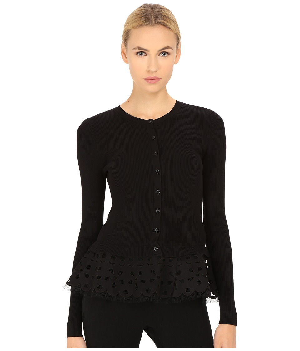 RED VALENTINO Cardigan Maglia Nero Womens Sweater