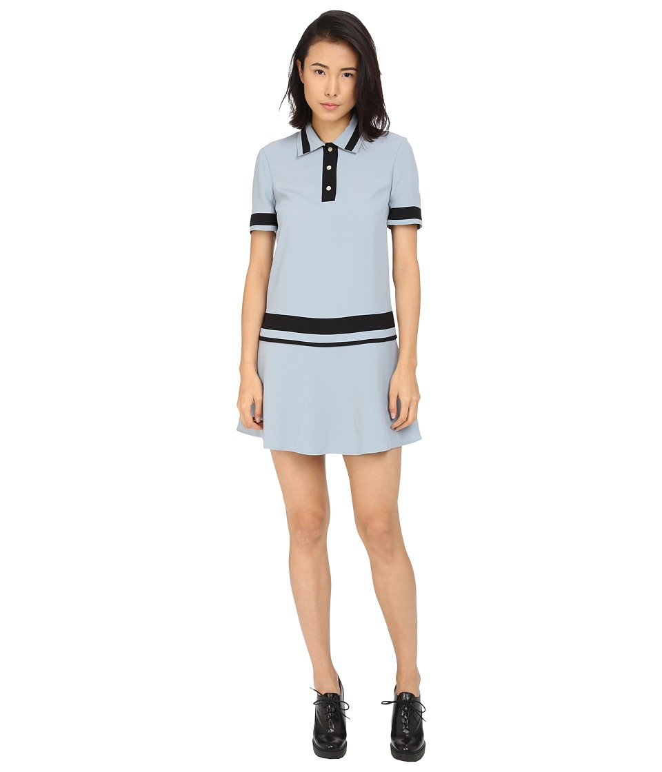 RED VALENTINO Abito Dress Sky Blue Womens Dress
