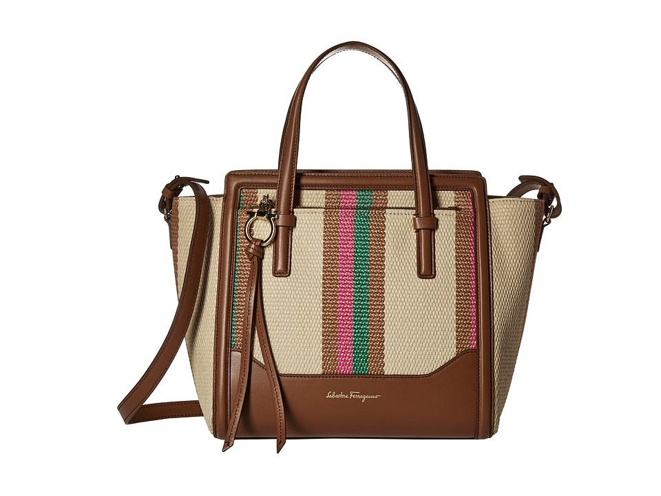 Salvatore Ferragamo - 21F830 Amy (Anemone/Amazzonia) Tote Handbags