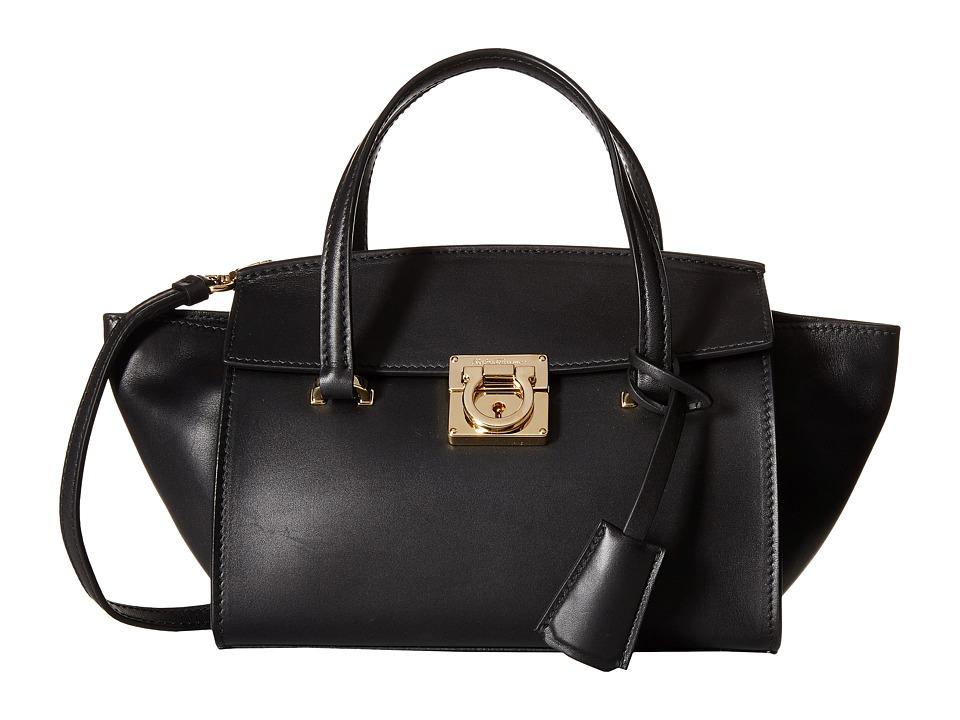 Salvatore Ferragamo - 21F827 Mara (Nero) Tote Handbags