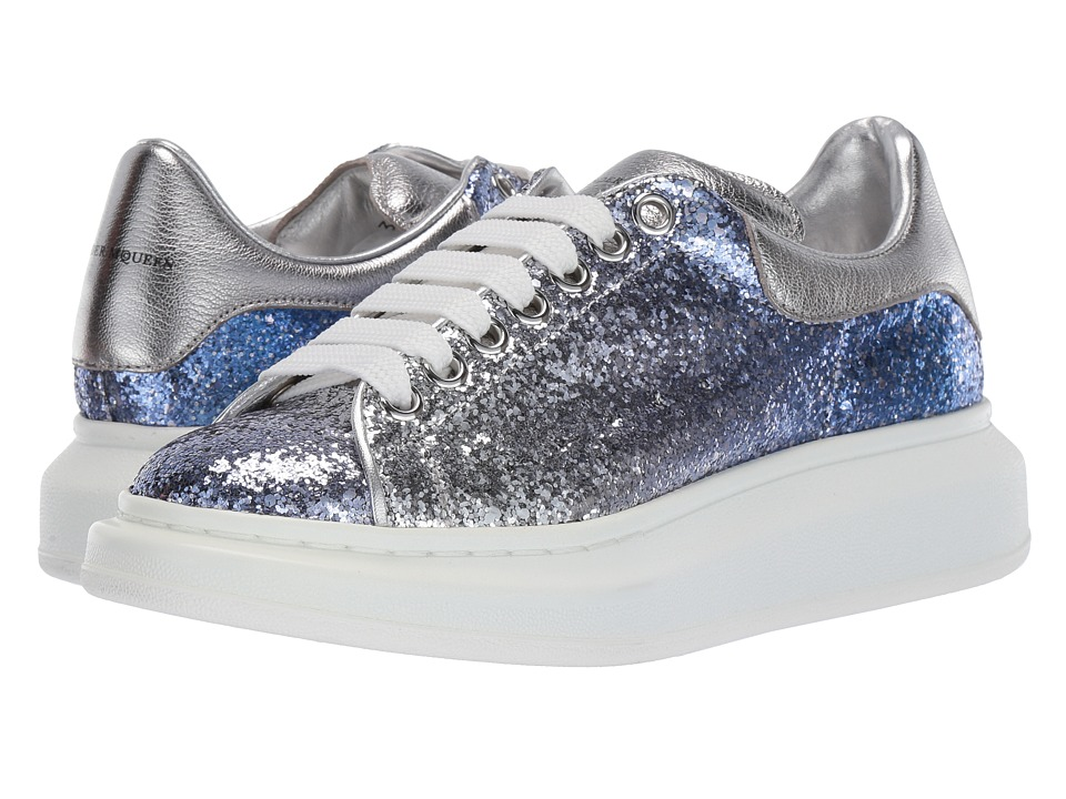 Alexander McQueen Sneaker Tess S.Gomma Light Blue Womens Lace up casual Shoes