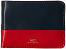 Obey Gentry Deuce Bi-Fold Wallet (Navy/Red)