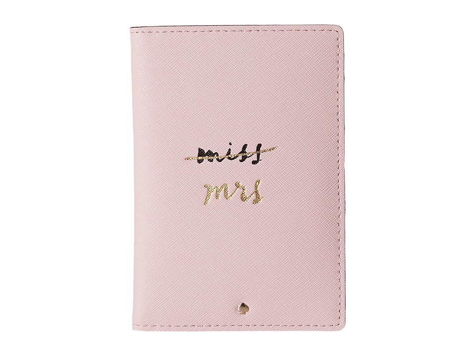Kate Spade New York - Wedding Belles Travel Passport Holder (Rosy Dawn 1) Wallet