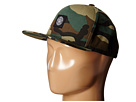 Obey Downtown Snapback Hat (Field Camo)