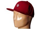 Obey Downtown Snapback Hat (Wine)