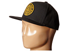 Obey Maximus Snapback Hat (Black)