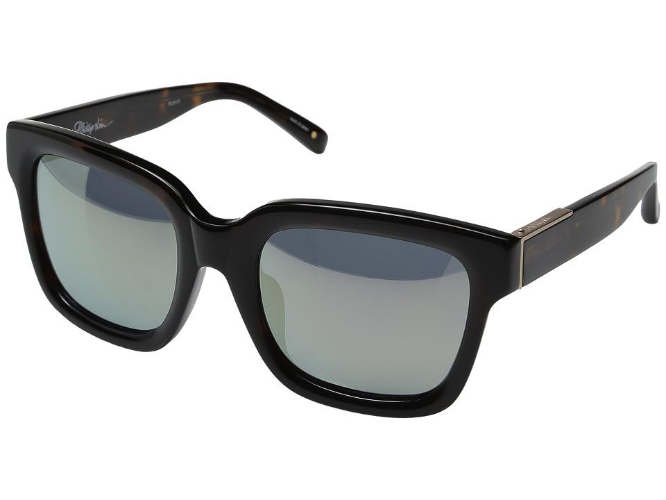 3.1 Phillip Lim PL51C17SUN Shell/Matte Gold/Turquoise Mirror Fashion Sunglasses