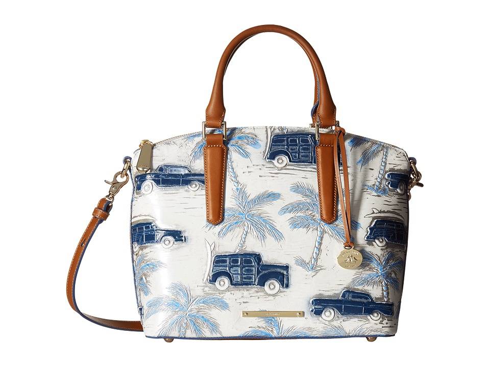 Brahmin Duxbury Satchel Blue Satchel Handbags