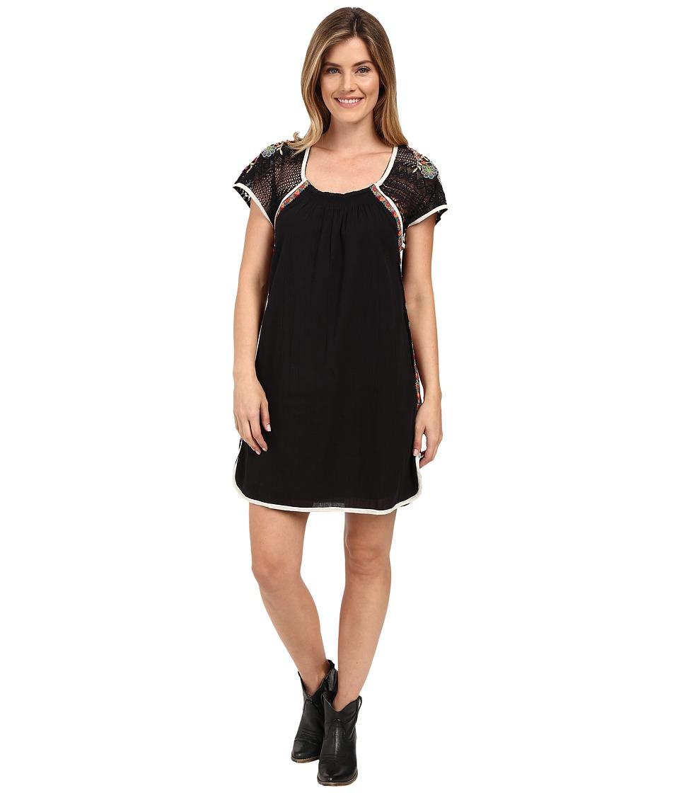 Double D Ranchwear Cherokee Morning Dress Black Womens Dress