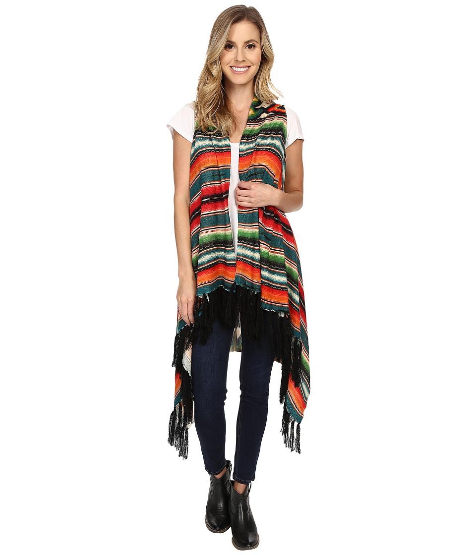 Double D Ranchwear Pachamama Vest Multi Womens Vest