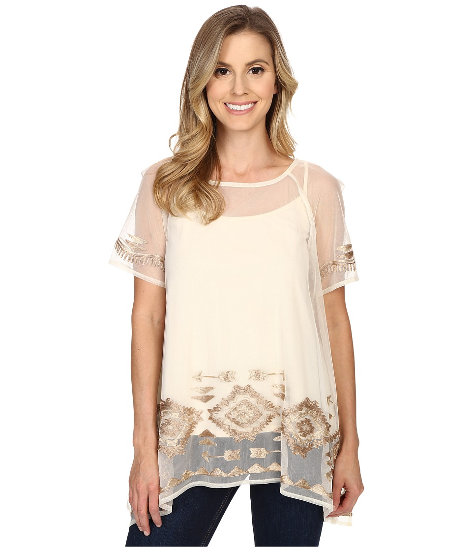 Double D Ranchwear Churros Top String Womens Clothing