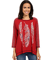 Double D Ranchwear - Feather Chant Top