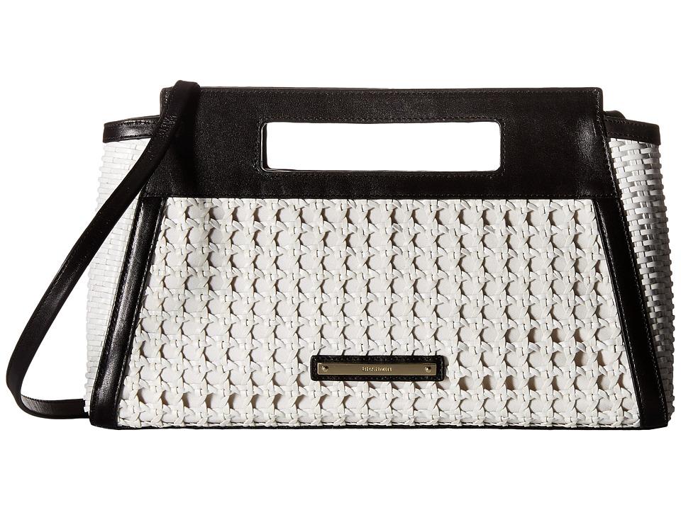 Brahmin Lenox Clutch White Clutch Handbags