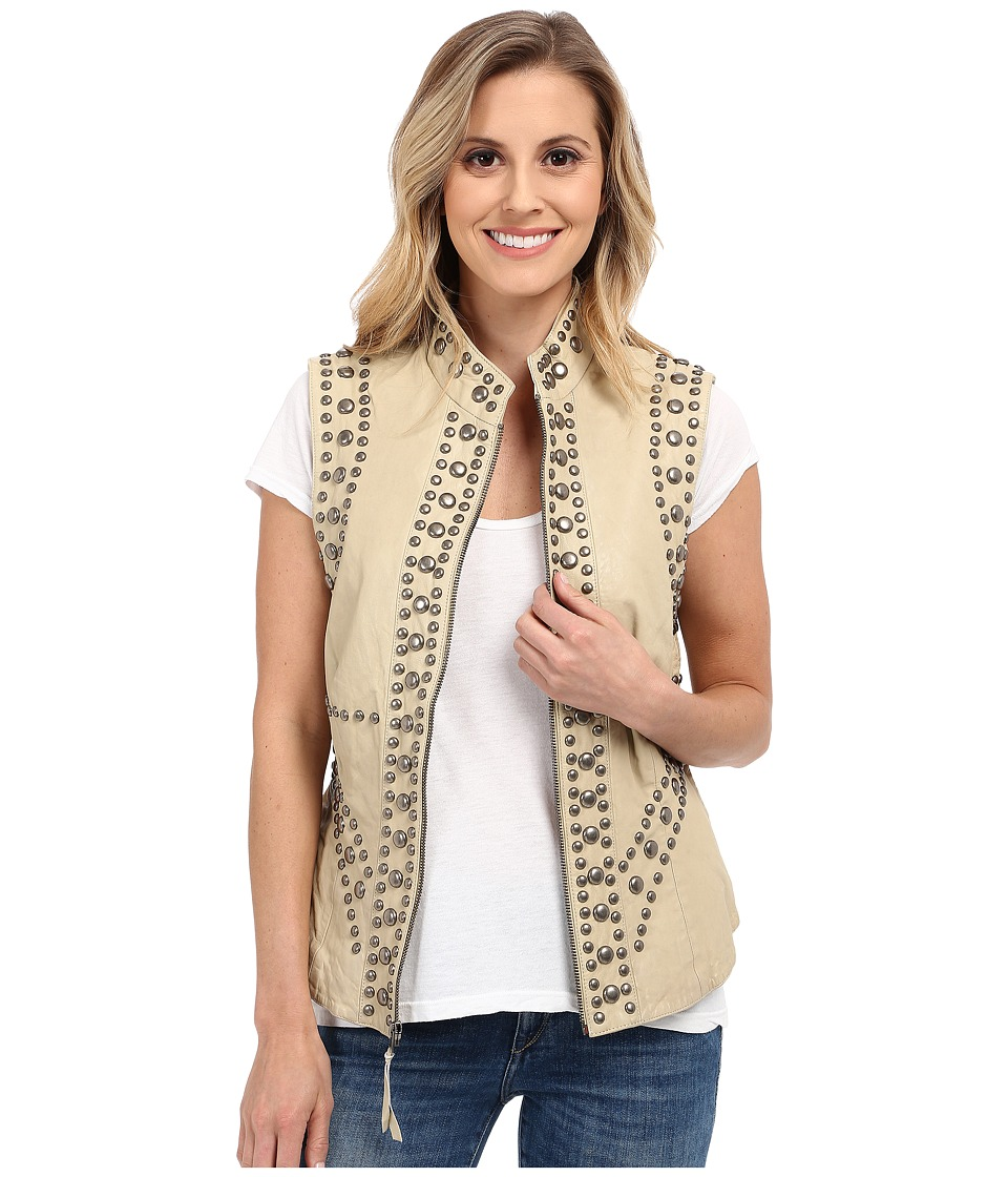 Double D Ranchwear Rockin P Ranch Vest String Womens Vest