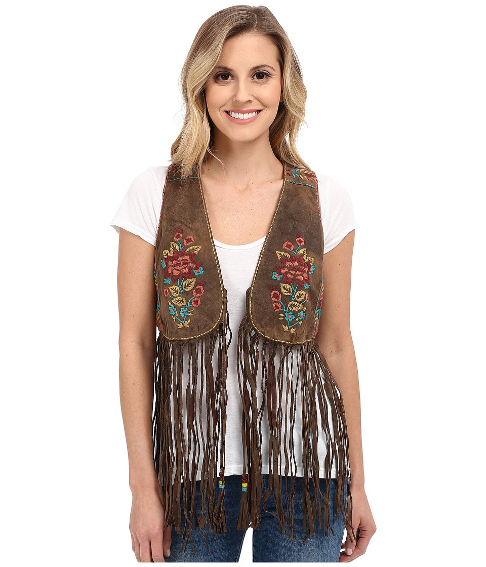 Double D Ranchwear Trinidad Vest Coffee Bean Womens Vest