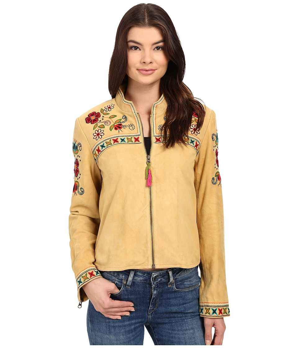 Double D Ranchwear Quechua Craft Jacket Ochre Womens Coat