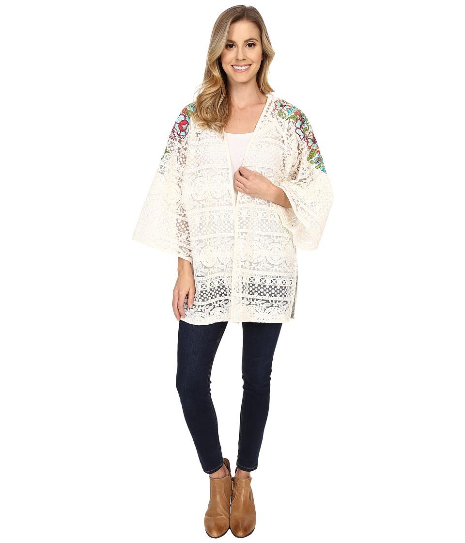 Double D Ranchwear Pepino Dulce Kimono String Womens Blouse