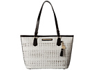Brahmin Medium Asher (White)