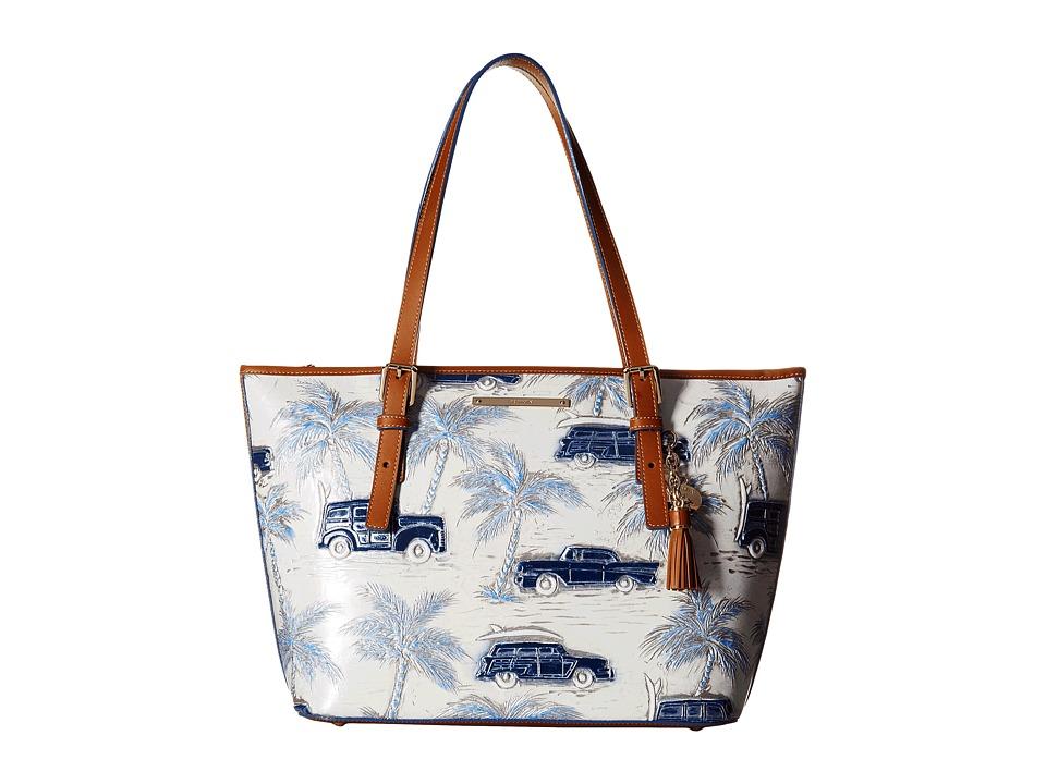 Brahmin Medium Asher Blue Handbags