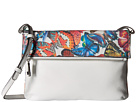Lodis Accessories Vanessa Butterfly Valerie Convertible Crossbody Clutch (Multi)