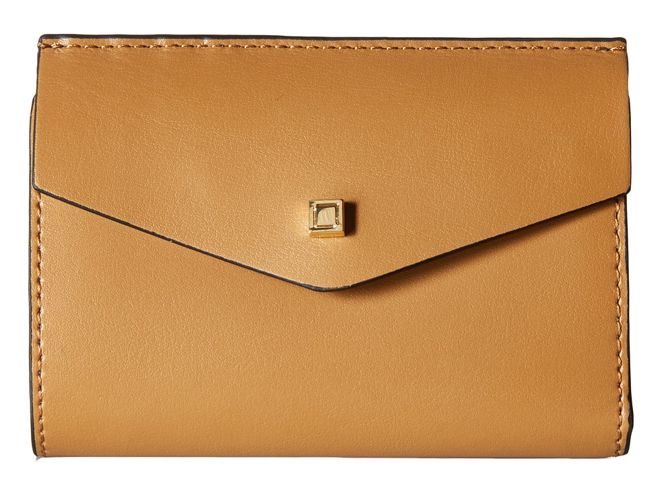 Lodis Accessories - Blair Unlined Rachel French Purse (Nutmeg/Cobalt) French Wallet