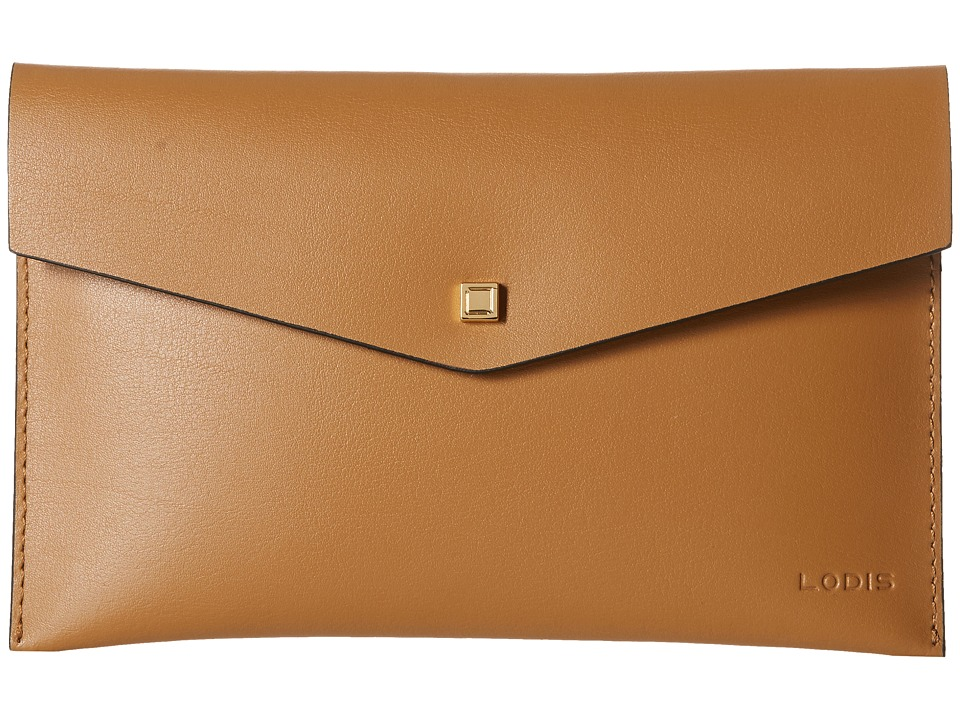 Lodis Accessories - Blair Deena Pouch (Nutmeg/Cobalt) Wallet
