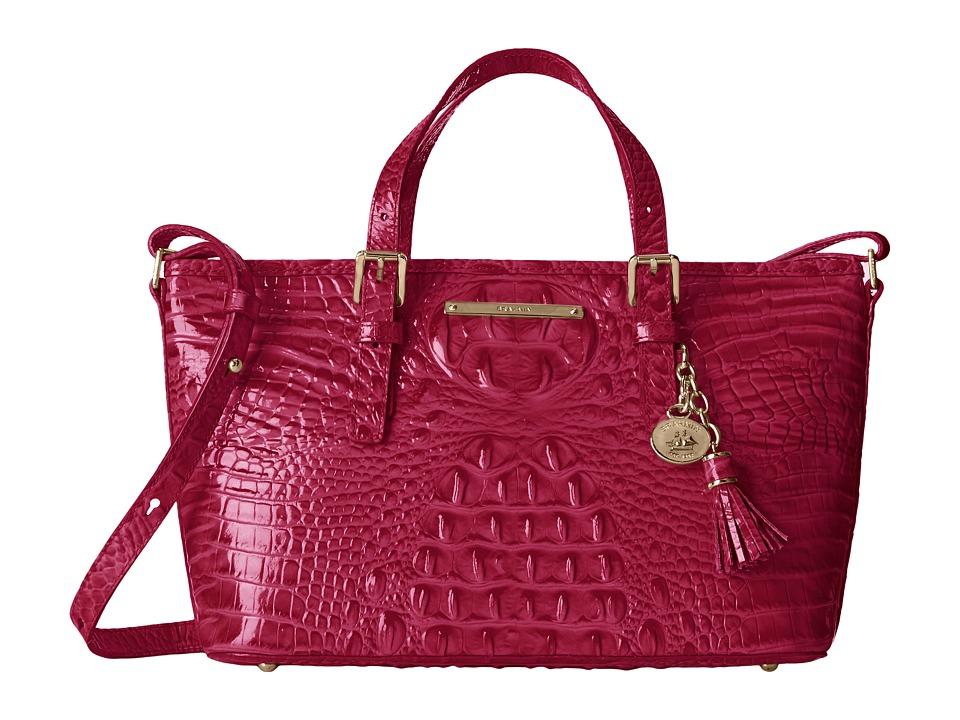 Brahmin Mini Asher Punch Satchel Handbags