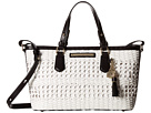 Brahmin Mini Asher (White)