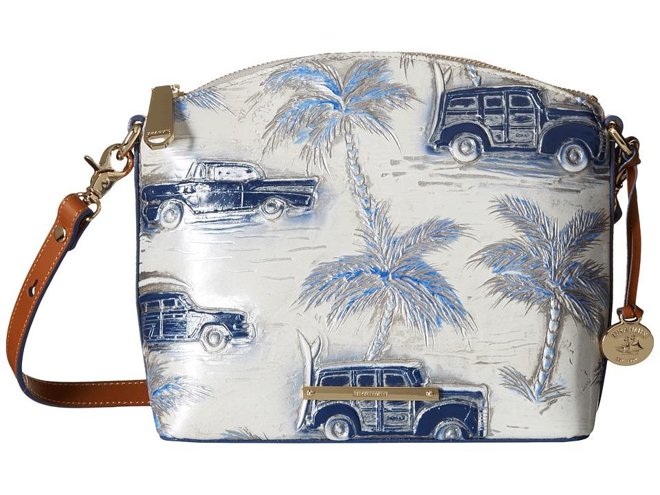 Brahmin Mini Duxbury Blue Handbags