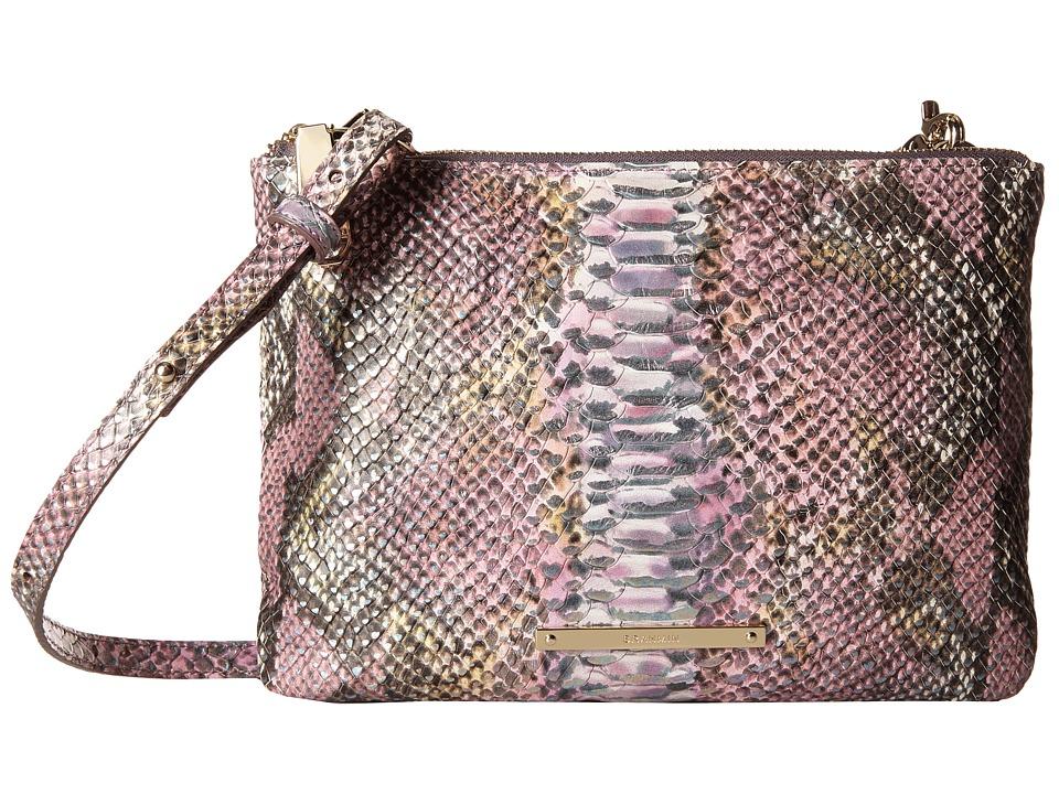 Brahmin Perri Crossbody Berry Opal Cross Body Handbags