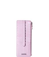 Lodis Accessories - Stephanie RFID Under Lock & Key Credit Card Case w/ Zipper Pocket