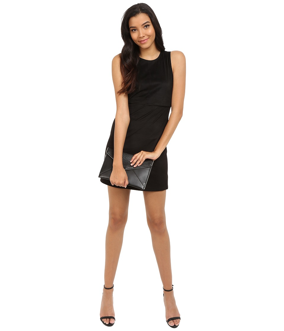 ONLY Frankie Faux Suede Dress Black Womens Dress
