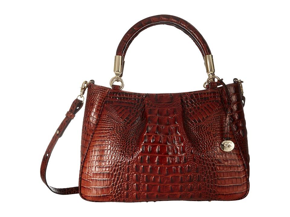 Brahmin Ruby Pecan Handbags
