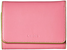Lodis Accessories Audrey Mallory French Purse (Pink/Kiwi)