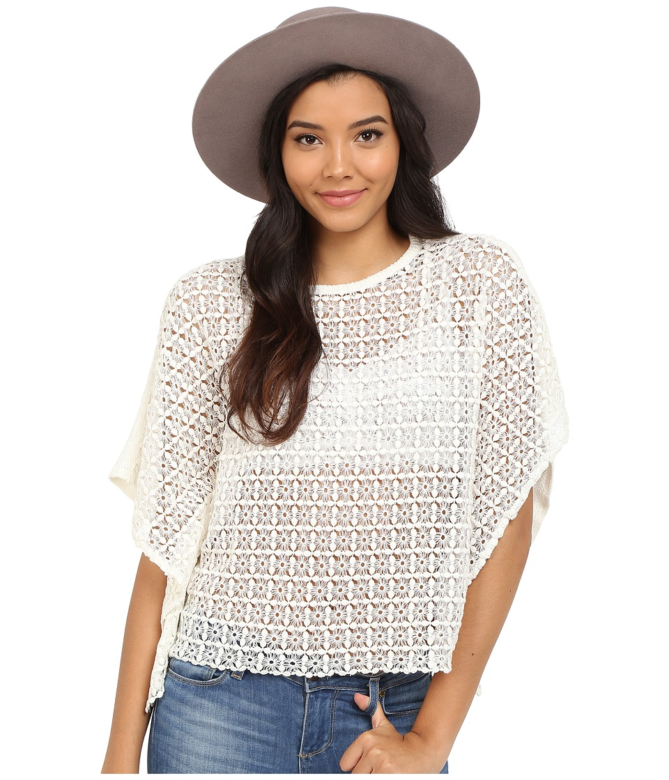 ONLY Amya Poncho Knit Cloud Dancer Womens Blouse