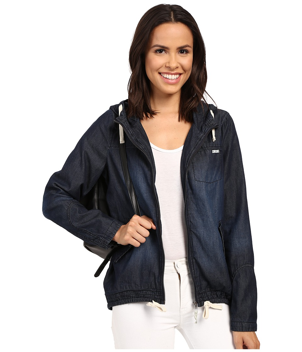 ONLY Caroline Denim Jacket Night Sky Womens Jacket
