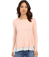 ONLY - Lynn Plisse Long Sleeve Pullover