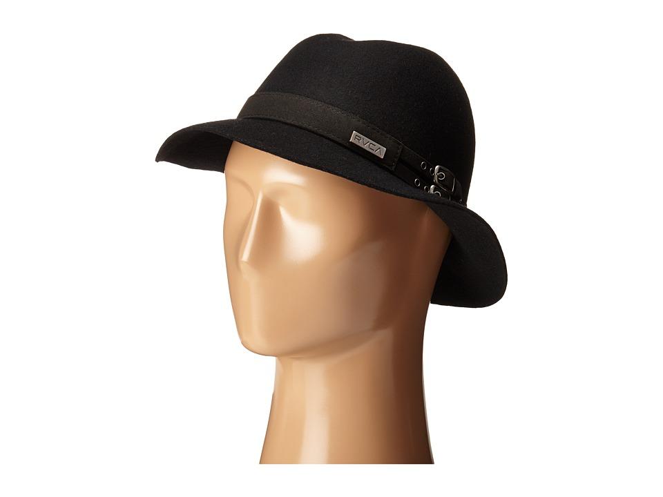 RVCA Nemis Fedora Black Fedora Hats