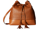 Lodis Accessories Kate Cara Convertible Drawstring (Toffee)