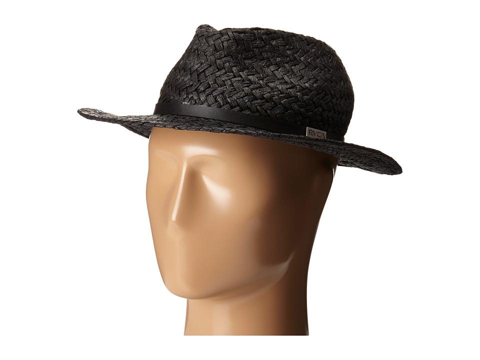 RVCA Shattic Hat Black Caps