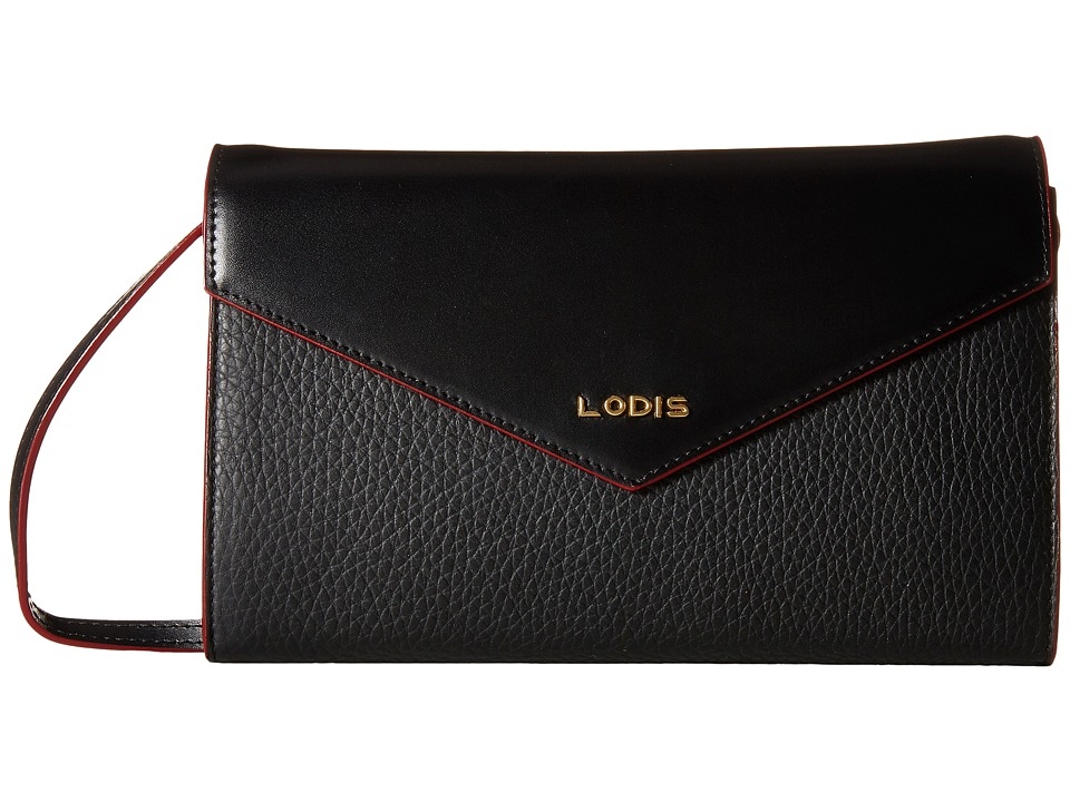 Lodis Accessories - Kate Gabi Wallet On A String (Black) Wallet Handbags
