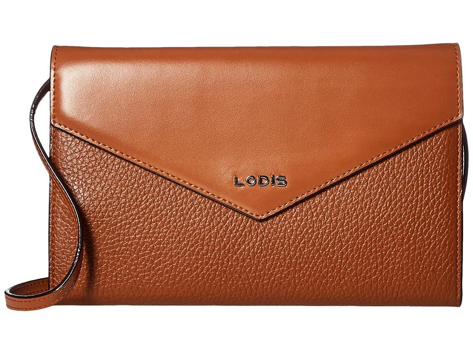 Lodis Accessories - Kate Gabi Wallet On A String (Toffee) Wallet Handbags