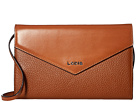 Lodis Accessories Kate Gabi Wallet On A String (Toffee)