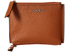 Lodis Accessories Kate Frances Double Zip Pouch (Toffee)