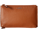 Lodis Accessories Kate Lani Double Zip Pouch (Toffee)
