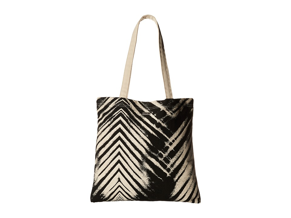 RVCA That Tote Black Tote Handbags